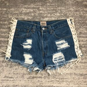 Furst of a Kind repurposed vintage shorts